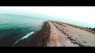 Cinematic FPV at a Beach
