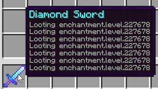 So I Illegally Enchanted Minecraft Swords