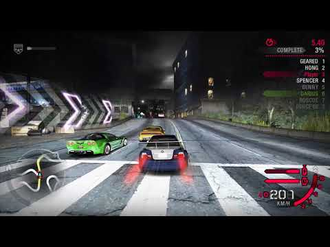 NFS Carbon - Darius Helps the Player Win The Race