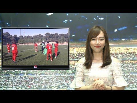 24h BÓNG LĂN SỐ 9   ĐTQG Việt Nam tăng 10 bậc trên BXH FIFA   VFF Channel
