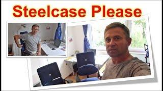 Bürodrehstuhl Steelcase Please 1und 2 mit Lumbalstütze