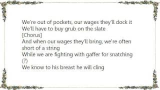 Chumbawamba - Poverty Knock Lyrics