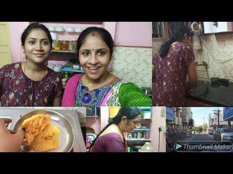 ஒரு வழியா saranya அக்காவ பார்த்தாச்சு🥰💞 | Tasty Sweet poli recipe | kutti vlog 😜😊