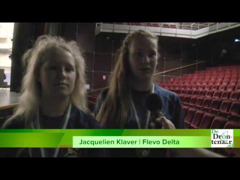 Flevo Delta Jeugdsportploeg van het Jaar dankzij NK-zilver  | video