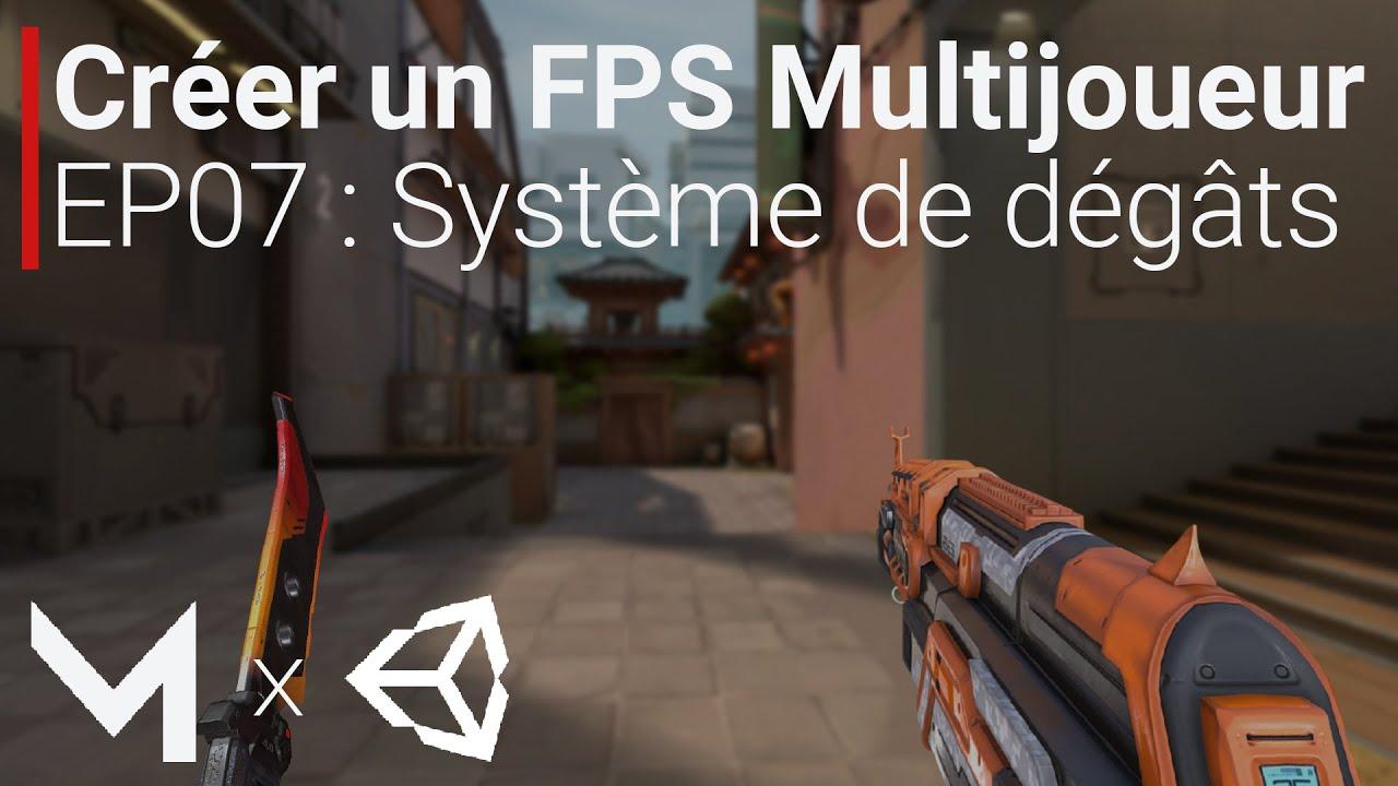 Créer un FPS MULTIJOUEUR avec Mirror sur Unity (EP07 : Dégâts des joueurs)