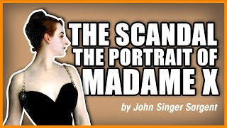The Scandal Of The Portrait Of Madame X By John Singer Sargent - 1st-art-gallery.com