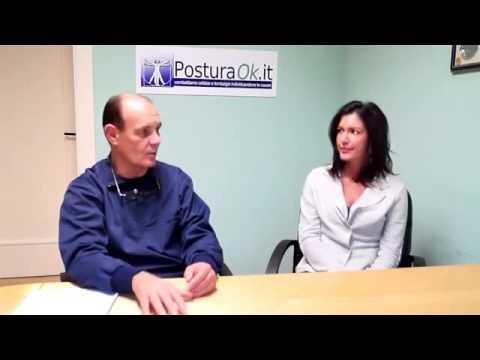 Il reparto cervicale di una spina dorsale diagnostica