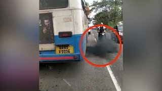 Goa: KTCL overhauls bus that went viral for emitting clouds of black smoke