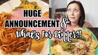 🍴🍝🌮What's for Dinner? | Easy Affordable Family Meal Ideas For Busy Moms | LOVE MISSY XO
