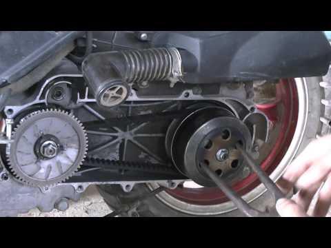 Скутер проблемы с вариатором