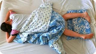 Типы людей во время сна