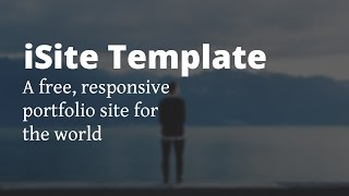 iSite | Free HTML Web Template