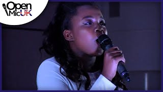 I KNOW WHERE I'VE BEEN – QUEEN LATIFAH performed by KAMILLA at Open Mic UK singing contest