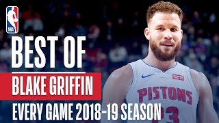 Blake Griffin's Best Play From Every Game Of The 2018-19 Season!
