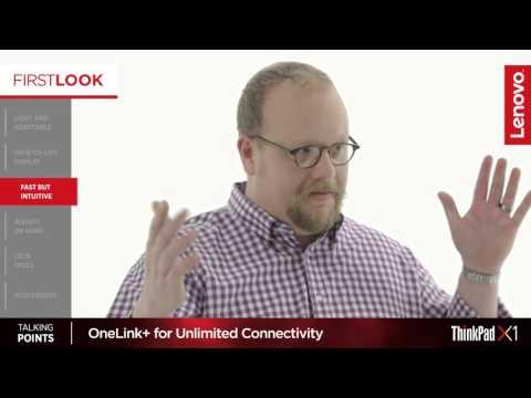 Lenovo First Look Video: ThinkPad X1 Yoga