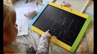 Homeschooling a 4 year old: Learning numbers