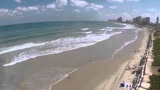 Beaches in Tel aviv and Jaffa. 2015