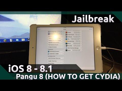 comment installer cydia avec pangu