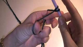 Maschen anschlagen und stricken - Video Strickanleitung