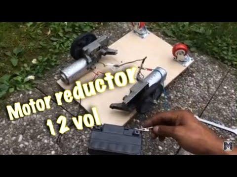 Motor reductor 12 vol , adaptación ( limpia parabrisas auto )