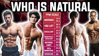 HOW TO SPOT A FAKE NATURAL! David Laid, Jeff Seid, Simeon Panda, MattDoes Fitness AND MR. OLYMPIA'S