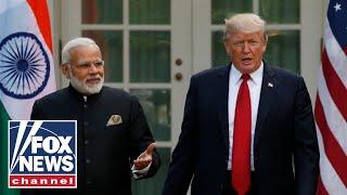 Trump participates in 'Howdy Modi' rally for Indian PM Narendra Modi