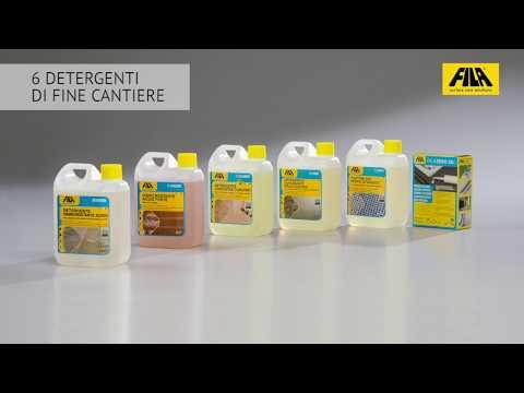 Detergenti disincrostanti FILA | Panoramica e utilizzo