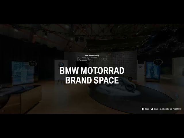 BMW 100 years exhibition 360 around the world