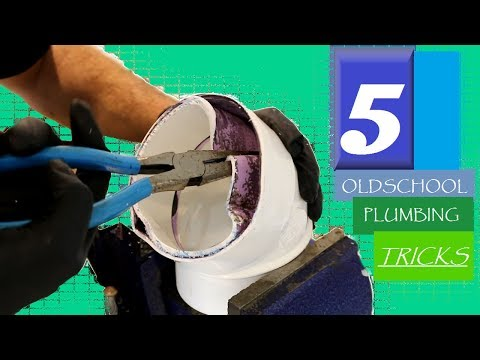 5 OLDSCHOOL Plumbing Tricks! | GOT2LEARN
