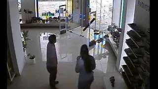 Deadly Tornado Rips Apart Shoe Store in Dolores, Uruguay
