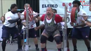 Men Open, 120+ kg - World Classic Powerlifting Championships 2016