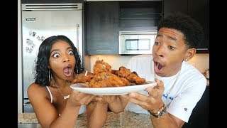 Download Youtube: COOKING WITH DK4L | HOW TO MAKE THE BEST FRIED CHICKEN EVER
