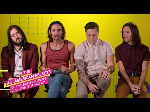 All-American Rejects on Cross Dressing for