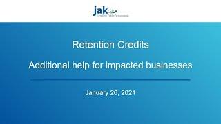 Employee Retention Credits