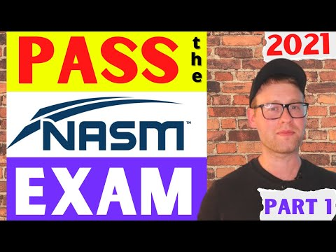 Pass the NASM CPT Exam | NASM CPT Study Guide Included ...