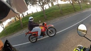 preview picture of video 'Yamaha XT 600 Tenerè with Aprilia ETX 125 Tuareg'