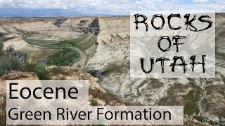 Eocene Green River Formation - The Rocks of Utah