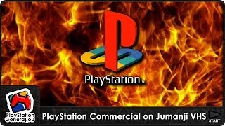 PlayStation - Jumanji VHS Commercial - UK (1996)