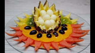 FRUIT PLATTER IDEAS | By J Pereira Art Carving