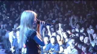 Avril Lavigne -  Freak Out [Live at Budokan ~ Japan] Bonez Tour 2005 #Legendado #Tradução #Português