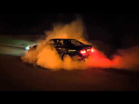 Bmw E36 325i Burnout