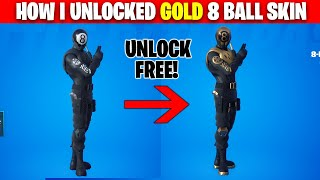 How to Unlock 8 Ball vs. Scratch Gold Style - Fortnite Battle Royale