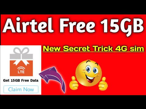 Download Airtel Free 2g 3g 4g Free Unlimited Internet Trick With Dow