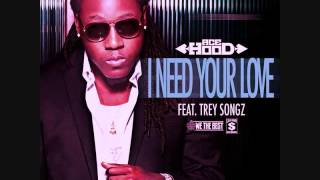 Ace Hood ft Trey Songz - I need your Love Chopped & Screwed (Chop it #A5sHolee)