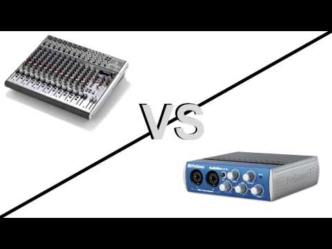 Mischpult vs. Audiointerface - Wann brauche ich was? (+ Soundbeispiel Scarlett 2i2 & Xenyx 302 USB)