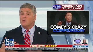 Hannity attacks Comey in episode promoted by Trump