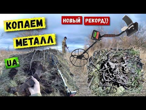 Коп металла в поле | Рекорд сезона | Коп с Квазар АРМ