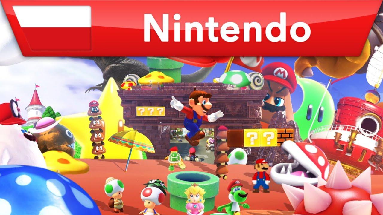 Zachwyć się klasycznymi oraz zupełnie nowymi wrażeniami w grach z Mario!