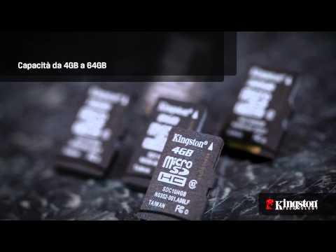Scheda microSDHC/SDXC Kingston - Classe 10