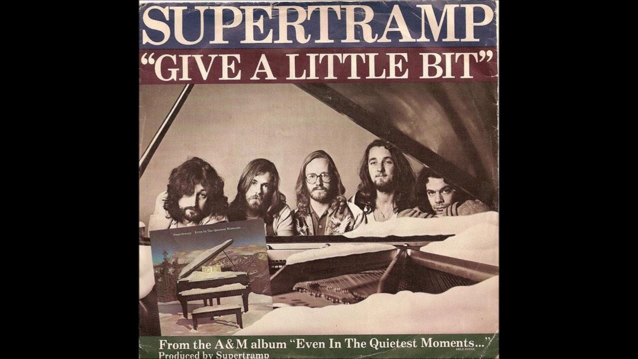 Supertramp Give A Little Bit Lyrics